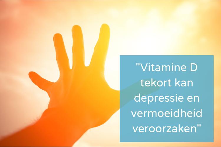 Vitamine D tekort en depressie